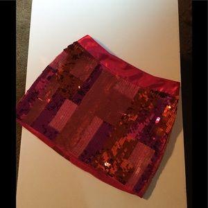Express Design Studio Disco Skirt